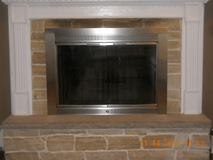 Excellent Fireplace Glass Doors James Ball Llc James Ball Llc Interior Design Ideas Gresisoteloinfo
